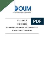 Tugasan- Hbhe1203 - Pedagogi Pendidikan Kesihatan