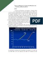 La Memoria y Cuenta Del Ministerio de Petróleo y Minería 2014