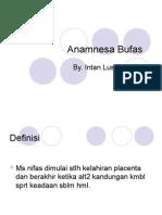 PP Anamnesa Bufas