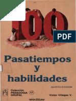 Villegas, Victor - 100 Pasatiempos y Habilidades