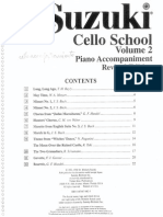 Suzuki Cello School Nº2 Con Piano