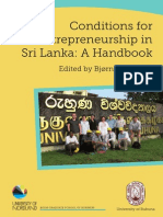 Conditions for Entrepreneurship in Sri Lanka