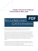 Planning Knowledge Networks for Scaling up Global Health in Bihar.docx