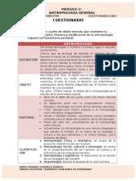 REFLEXIONES ÉTICAS ALREDEDOR DE LA DOCENCIA. Cuestionario 1