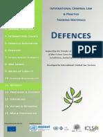 Module 11 Defenses