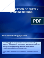 Globalization of Supply Chain Networks
