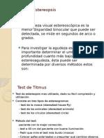 Test de Estereopsis