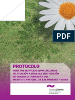 Protocolo Servicios Violencia Domestica Uruguay