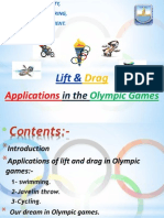 drag and lift in olympic games