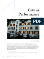 City as Performance