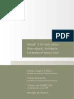 Relatório Da Comissão Sobre Mensuração de Desempenho Econômico e Progresso Social STIGLITZ e SEN