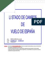 Listado de Campos