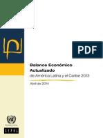 Balance Economic o Actualiza Do 2013