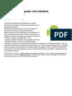 Android Bloquear Um Numero Desconhecido 16530 Mzafx3