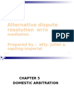 Outline Lecture Domestic Arbitration.pp