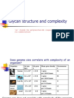 Glycan Structure Complexity