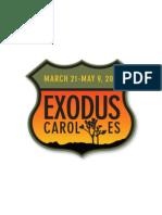 Carol Es Exodus Solo Exhibition - Curatorial Essay