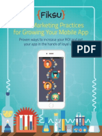 Best Marketing Practices for Growing Your Mobile App