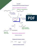 Reaccioes quimicas organica
