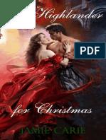 Jamie Carie-A Highlander for Christmas