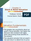 Stock Valuation
