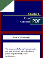 NSU Buyer Behaivor-5 Personality