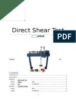 Shear Box Lab Report