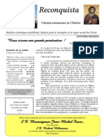 Reconquista 9 Mars Avril 2015