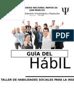HABILIDADES SOCIALES E INSERCIÓN LABORAL Guía Del Participante - Sesión2