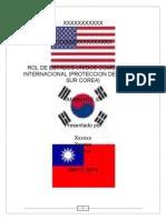 Rol de Estados Unidos Como Policía Internacional