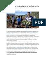 Retrato de La Andalucía Vulnerable 21 03 2015