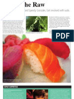 Sushi - Atomic Bombs, Irradiated Tuna, and Fake Green Hotness