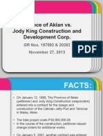 Aklan vs Jody King REPORT