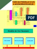 Architecture Materiale d'Un Systeme a Microprocesseur