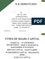 Shares & Debentures