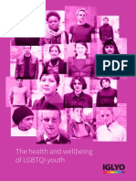 Health and Wellbeing of LGBTQI Youth