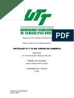 1.1 Articulo 75 y 76 Del Codigo de Comercio