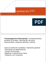 Interpretación FTT 1