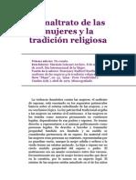 El Maltrato de Las Mujeres y La Tradición Religiosa