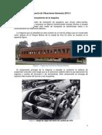 Vibrations on a train wagon / Vibraciones en una vagon de tren
