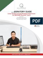 QUANSER Linear Double Inverted Pendulum - Laboratory Guide