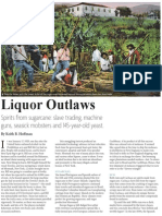 Liquor Outlaws - Rum and Cachaca