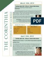 The Corinthian March/April 2015