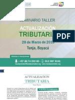 Cartilla Seminario Actualización Tributaria