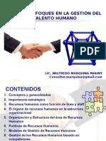 Nuevos Enfoques Gestion RRHH WILFREDO MARQUINA