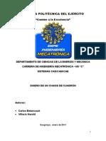 Informe Cadcam Chasis Cuadrón Ok