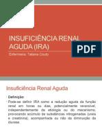 INSUFUCIÊNCIA RENAL AGUDA e INSUFICIÊNCIA RENAL CRÔNICA