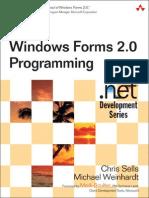 (Microsoft .NET development series) Chris Sells, Michael Weinhardt-Windows Forms 2.0 programming-Addison-Wesley (2006).pdf