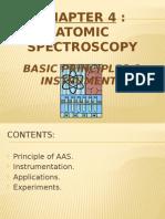 Atomic spectroscopy notes