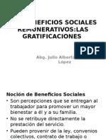 Los Beneficios Sociales Remunerativos